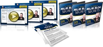 Ann Sieg and Ty  Tribble's MLM Blog Secrets